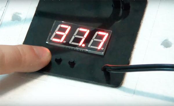 инкубатор несушка настройка температуры