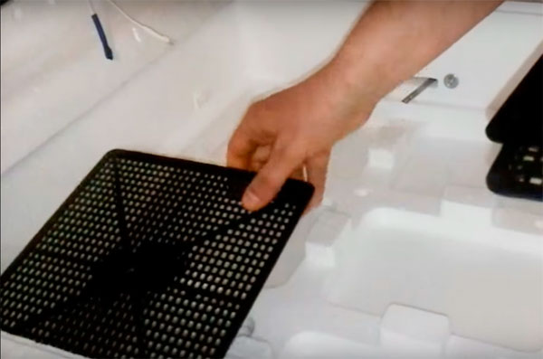 сборка инкубатора несушка