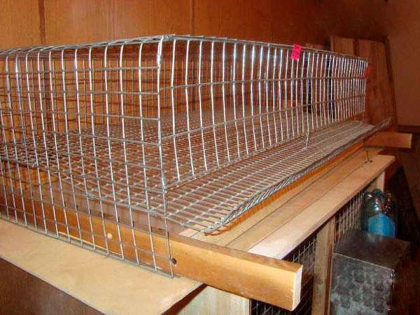 Чертежи клеток из сетки для кроликов Сам Себе Строитель 35